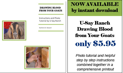 U-Say Ranch Blood Drawing Tutorial